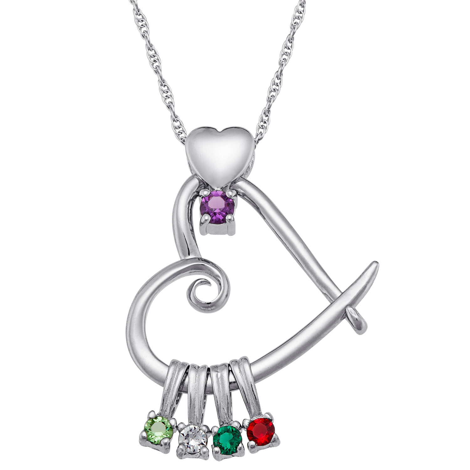 auren birthstone products pearl charm necklace june jewellery